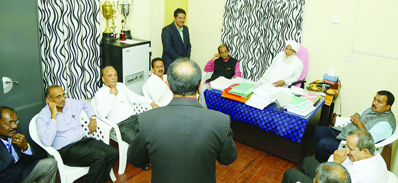 Members of Bar Council of India met Kanthapuram
